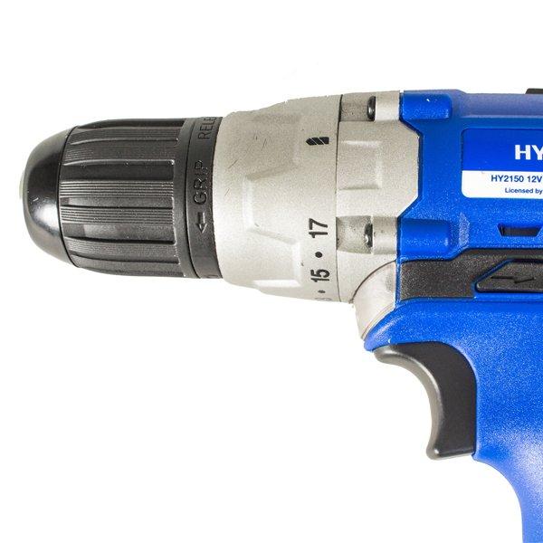 Hyundai Hy2150 10mm 12v Dc Cordless Drill Driver
