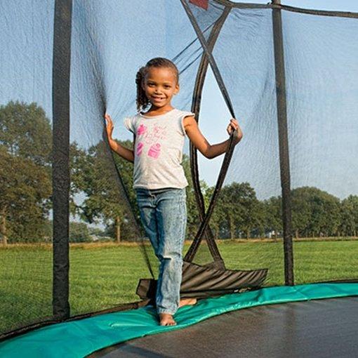 12.5ft BERG Favorit InGround Trampoline 380 + Safety Net