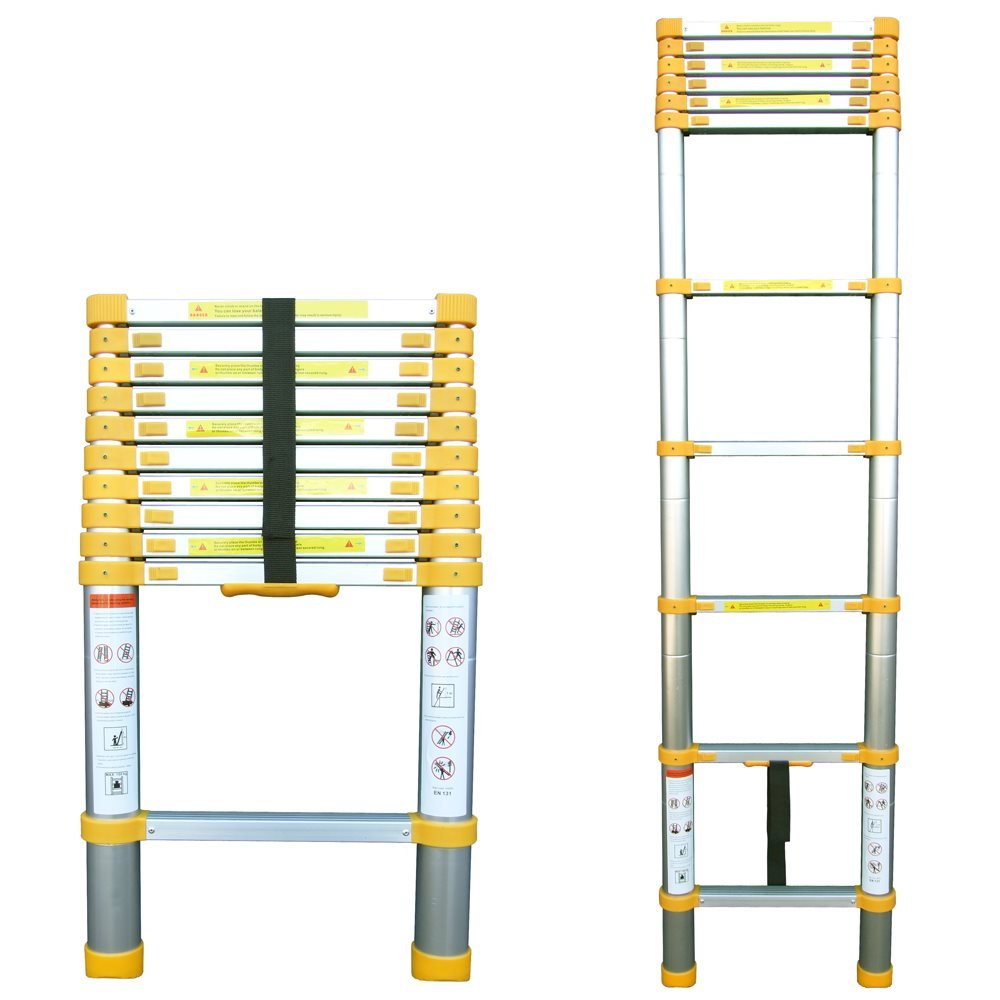 Telescoping Extension Ladder : Telescopic extension ladder m ladders and platforms