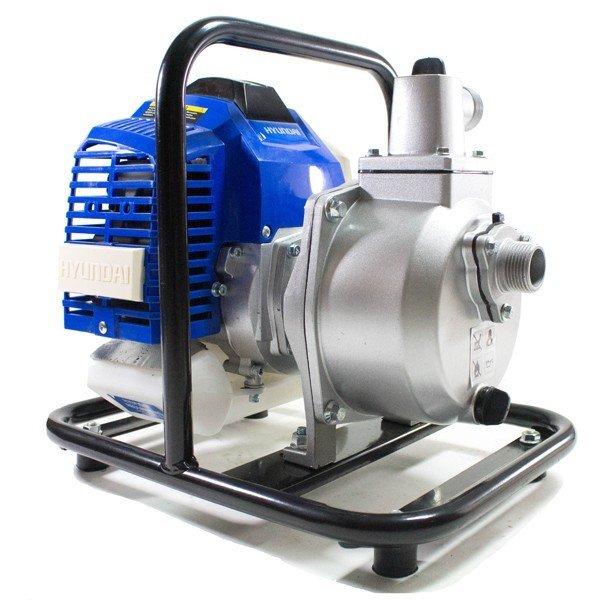 Handheld Water Meter Pump : Hyundai hy mm quot lightweight portable petrol