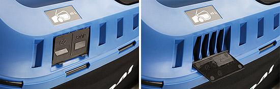 Hyundai HYM60Li380 Cordless Mower - Levels Indicator