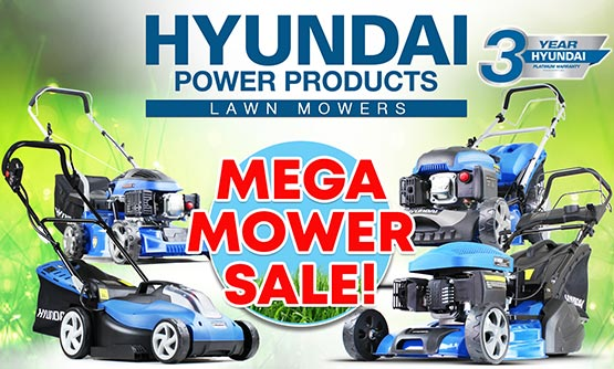 Hyundai Lawnmower Mega Sale