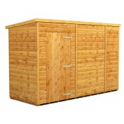Power 10x4 Pent Garden Shed - Windowless / No Windows