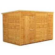 Power 10x6 Pent Garden Shed - Windowless / No Windows