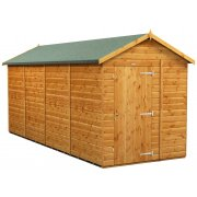 Power 18x6 Apex Garden Shed Windowless