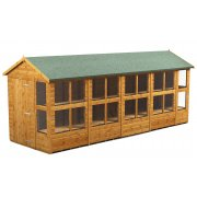 Power 18x6 Apex Potting Shed - Single Door