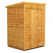 Power 4x4 Pent Garden Shed - No Windows / Windowless