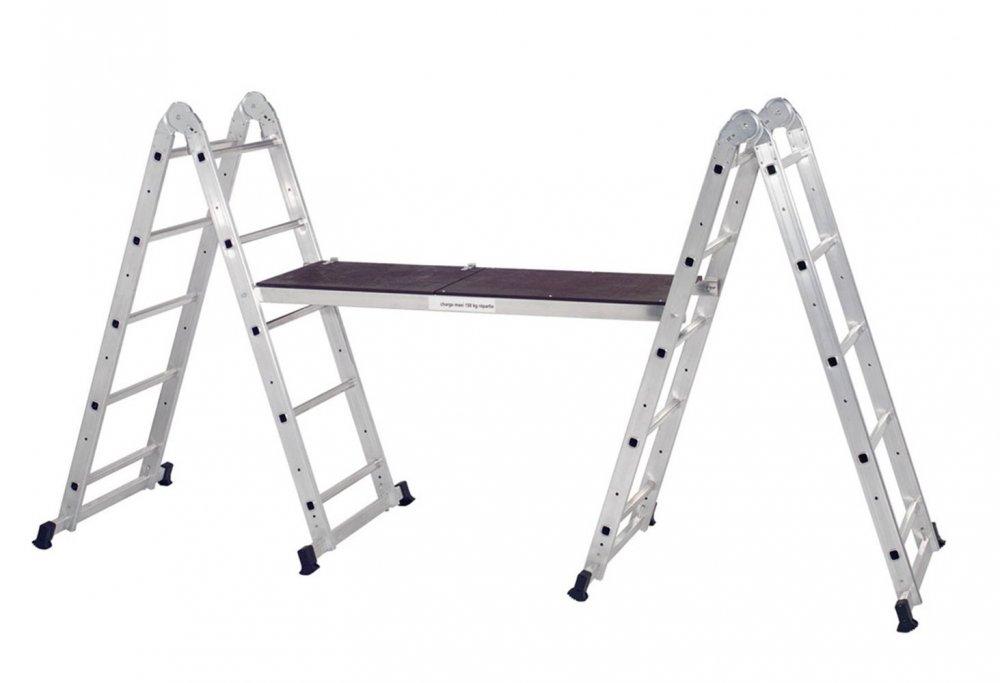 Ladder Scaffold Platform : Centaure in combination ladder and scaffold tower