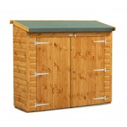 6x2 Power Pent Bike Utility Shed