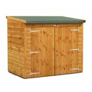 6x4 Power Pent Bike Utility Shed