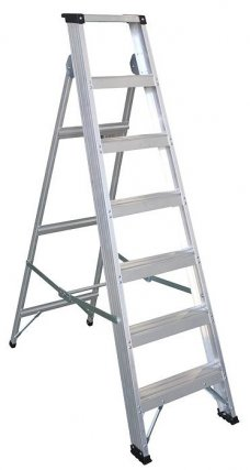 Abbey 7 Step Class 1 Industrial Builders Step Ladders