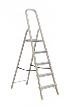 Abbey Aluminium Platform Ladder with 6 Steps