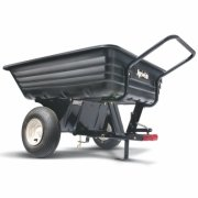 Agri-Fab 45-0345 8-inch Push / Tow Poly Trailer / Cart