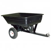 Agri-Fab 45-0348 8 Cubic Ft Tow Poly Trailer / Cart