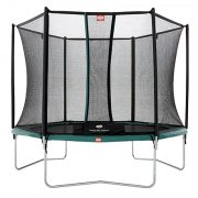8ft BERG Talent Trampoline 240 + Safety Net Comfort