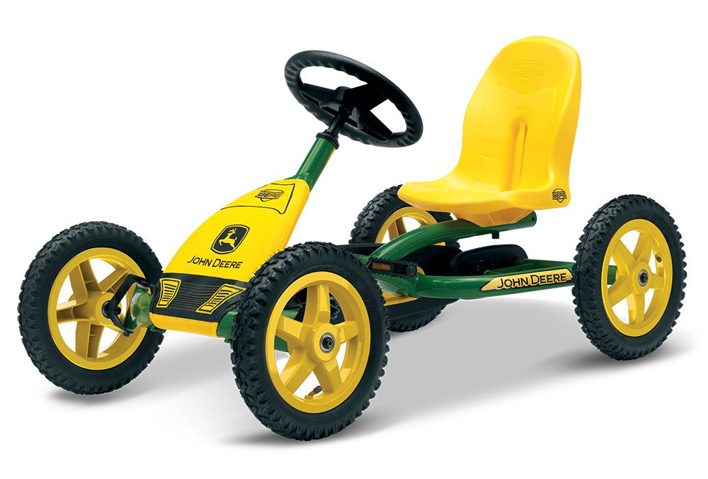 berg john deere buddy pedal go kart age 3 8 years berg. Black Bedroom Furniture Sets. Home Design Ideas