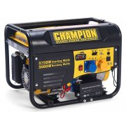 Champion CPG4000E1 3500 Watt Electric Start Petrol Generator