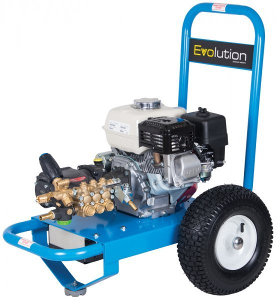Evolution 2 E2T14150PHE GX200 Powered 2175psi Electric Start Pressure Washer  - Dual Pumps