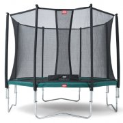 12.5ft BERG Favorit Trampoline 380 + Safety Net Comfort