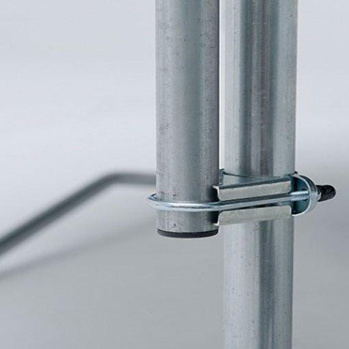 12.5ft BERG Favorit Trampoline 380 + Safety Net Comfort