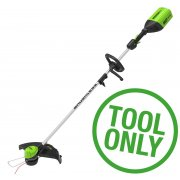 Greenworks GD60LT Line Trimmer Bottom Mount (Bare Tool)