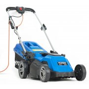 "Hyundai HYM3800E 38cm / 15"" 1600W / 240V Electric Rear Roller Rotary Lawnmower"