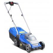 "Hyundai HYM40LI330P 33cm / 13"" - 40V Cordless Roller Lawn Mower with Battery & Charger"