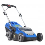"Hyundai HYM40LI380P 38cm / 15"" - 40V Cordless Roller Lawn Mower with Battery & Charger"