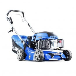 "Hyundai HYM430SPE 16.5"" / 42cm Self Propelled Electric Start 17in Petrol Lawn Mower"