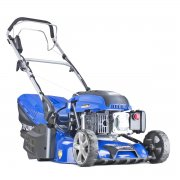"Hyundai HYM430SPER Self Propelled 17"" / 43cm Electric Start Petrol Roller Lawn Mower"