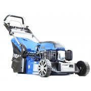 "Hyundai HYM530SPR 21"" 53cm Self Propelled 196cc Petrol Rear Roller Lawn Mower"
