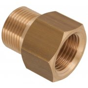"M22 Male to 1/2"" BSP Female Brass Coupler"