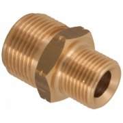 "M22 Male to 3/8"" BSP Male Adaptor / Coupler"