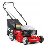 "Cobra M41C 16"" / 41cm Petrol Powered Lawnmower"