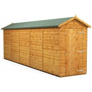 Power 20x4 Apex Garden Shed - Windowless