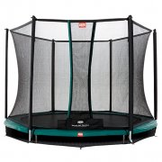 8ft BERG Talent InGround Trampoline 240 + Safety Net Comfort