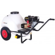 2175 psi / 150 Bar Wheelbarrow Pressure Washer with a 120L Tank