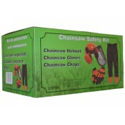 Chainsaw Safety Kit - Helmet, Chaps and Gloves