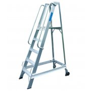 Lyte Industrial WS5 Warehouse Ladder - Side Rails - 5 Treads / Steps