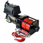 Warrior Ninja 2500 24V Electric Winch - Synthetic Rope - 1134kg / 2500lbs