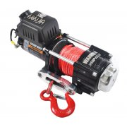 Warrior Ninja 3500 24V Electric Winch / Synthetic Rope 1588kg / 3500lbs