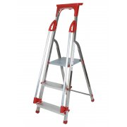 Abbey 3 Step Aluminium Safety Platform Step Ladder