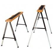 Batavia Adjustable Metal Work Trestles / Sawhorse - Pair
