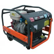 Belle GPX5000W Honda Powered 5kva / 4kw Generator with Wheels