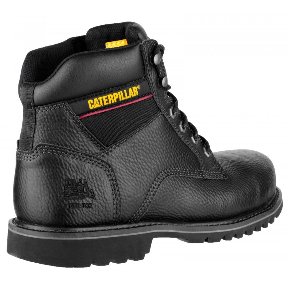 Caterpillar Black Electrical Safety Boots - UK 10 Euro 44 - Work U0026 Safety Boots