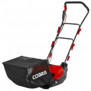 "Cobra CM32E 400W 32cm / 12.5"" Cylinder Mower with Split Rear Roller"