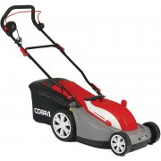 "Cobra GTRM34 34cm / 13"" Electric Lawnmower with Rear Roller"