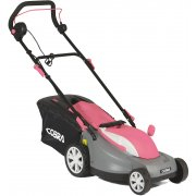 "Cobra GTRM38 38cm / 15"" 1400w Electric Lawnmower with Rear Roller - Pink"