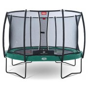 BERG Elite+ Regular Tattoo Green 430 Trampoline + Safety Net T-series 430 - 14ft