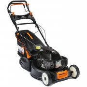 "Feider TR4870 48cm / 19"" Variable-Speed Petrol Rear-Roller Lawnmower"